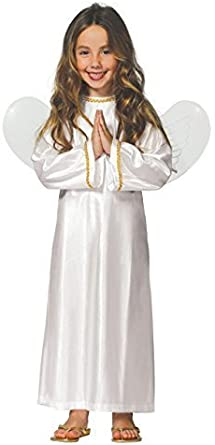 Kids Christmas Fancy Dress Costume Angel Outfit Gabriel Nativity Outfit Gift