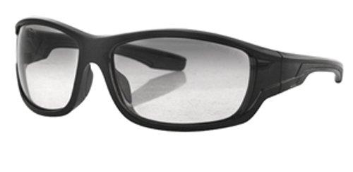 Bobster Gradient Oversized Sunglasses,Black Frame/Photochromic Lens