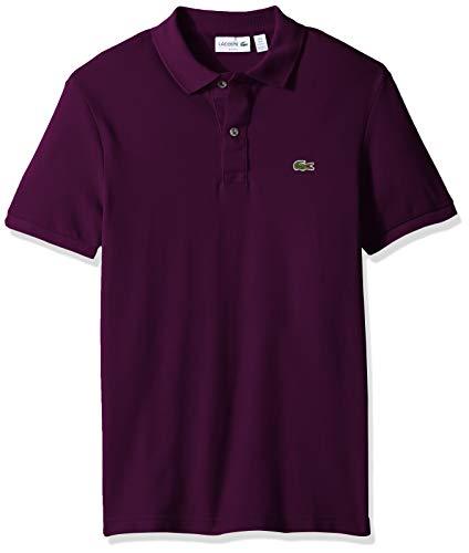 - Lacoste Men's Petit Piqué Slim Fit Polo Shirt, Urchin Purple, X-Large