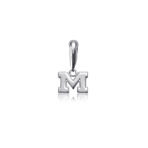 (University of Michigan Wolverines Sterling Silver Jewelry by Dayna Designs)