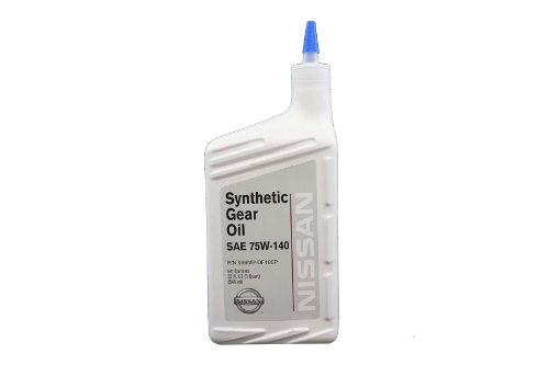 1 Synthetic Gear Lubricant (Genuine Nissan Fluid 999MP-DF100P SAE 75W-140 Synthetic Gear Lubricant Oil - 1)