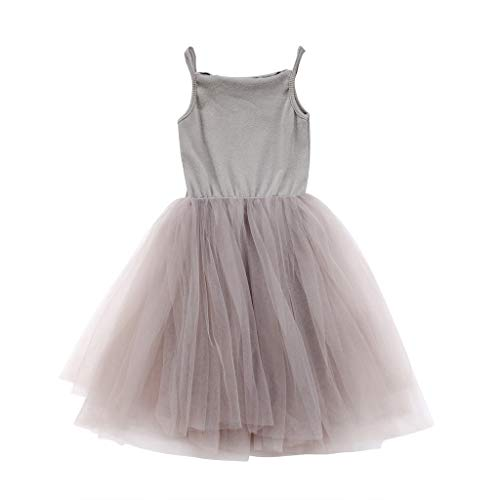 Toddler Kid Baby Girls Pettiskirt Princess Tulle Dress Casual Party Tutu Dresses Clothes -