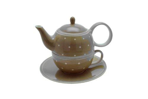 Tea for one Set Gesa Keramik Kanne: 0,4 l, Tasse: 0,2 l Cha Cult 82601