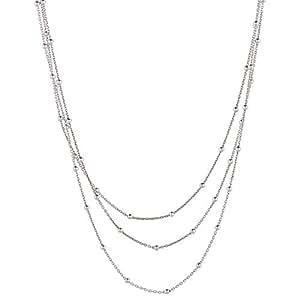 Aurora Women Silver Multi Chain
