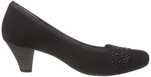 Gabor Gabor Fashion - botas de caño alto de piel mujer Azul (+steine 16)