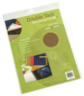 Archival Double Tack Mounting Film 18