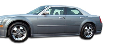 Duraflex Replacement for 2005-2010 Chrysler 300 300C VIP Side Skirts Rocker Panels - 2 Piece
