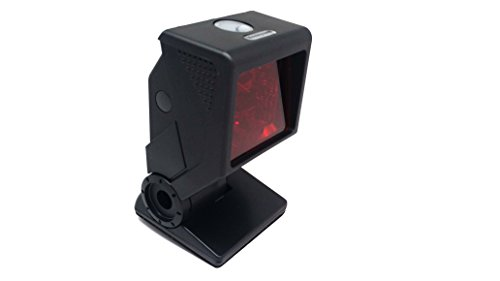 Honeywell QuantumT 3580-C38 Hand-Free Omnidirectional Laser Barcode Scanner with Optional Single-Line Scanning Capabilities, Includes USB Cable (Single Line Operation)