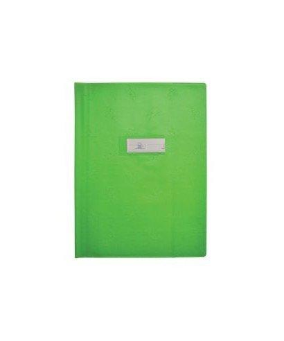 1 Prot/ège cahier 17x22cm picto vert pomme