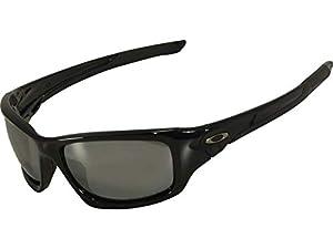 Oakley Valve Sunglasses Black/Polarized Black Iridium OA-12-837