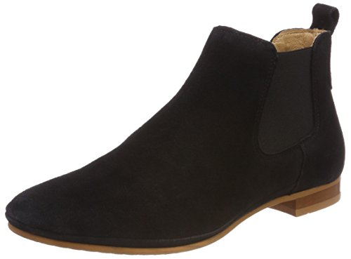 Points Schwarz Boots black New Ten Femme Chelsea Toulouse 4wq48d1