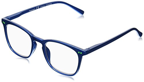 - Peepers Women's Carnivale 2267175 Square Reading Glasses, Blue, 1.75