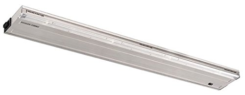 Kichler 12068SS30 LED Direct Wire 3000K LED Undercabinet 30-Inch, Stainless Steel