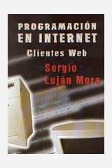Programación en Internet: clientes Web Paperback