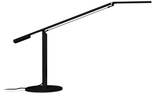 Koncept ELX-A-W-BLK-DSK Equo LED Desk Lamp, Warm Light, Black