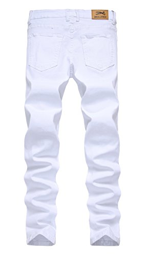 IWOLLENCE-Mens-Skinny-Slim-Fit-Stretch-Straight-Leg-Elasticity-Jeans-Pants
