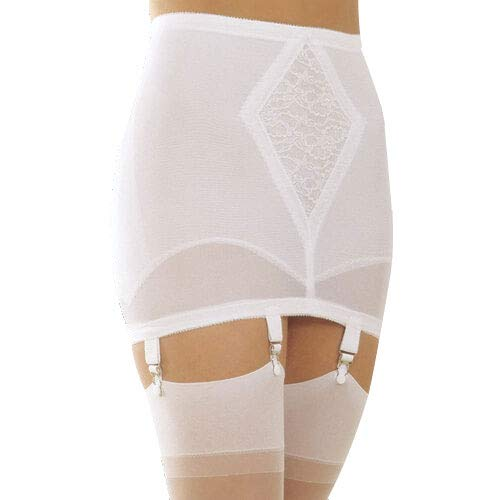 Retro Lingerie, Vintage Lingerie, New 1950s,1960s, 1970s Rago Style 1365 - Open Bottom Girdle Medium Shaping $54.88 AT vintagedancer.com