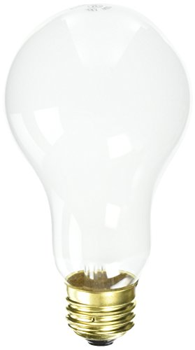 Westinghouse Lighting 3695900, 150 Watt, 130 Volt Frosted Incand A21 Light Bulb, 1000 Hour 2650 - Light A21 130v Bulb