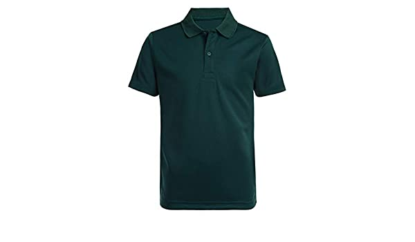 Nautica Short Sleeve Performance Polo, Verde (Hunter), M para ...