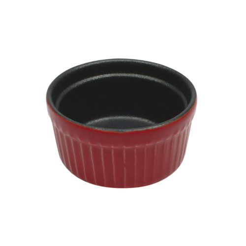 Maxwell and Williams Microstoven Red 3.5-Inch Ramekin by Maxwell and Williams Designer Homewares