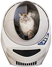 Litter-Robot 3 Automatic Self-Cleaning Litter Box - Beige - Carbon Filters - Drawer Full Notification - MoonGlo NiteLite - Sleeping Mode - Ergonomic