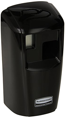 Care Controlling (Rubbermaid Commercial Products Microburst Automated Odor-Controlling Aerosol Air Care System, MB3000 Dispenser, Black)