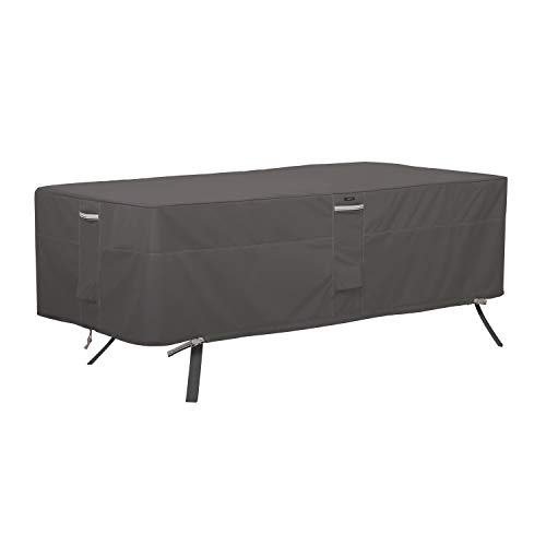 Classic Accessories Ravenna Rectangular/Oval Patio Table Cover, Large