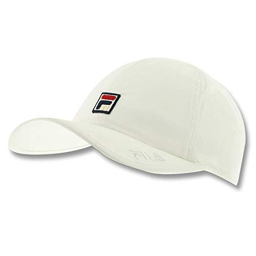 Fila Unisex Performance Solid Runner Hat,White