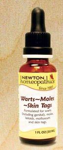 Newton Labs Warts 1oz Liquid