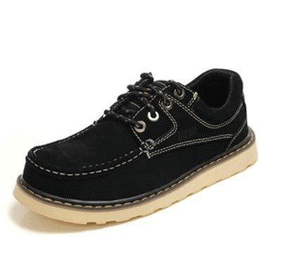 Large Male Martin Black Autumn Men's Size Casual Daily New Shoes Aimenga Pu Boots qSwgvA8x