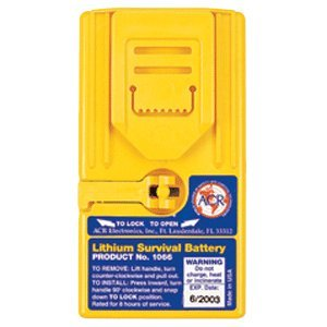 ACR 1066 Lithium Survival Battery for 2727 Radio