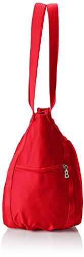 Mujer Peony Bogner 444 Rojo hombro Basket Bolso de 8ZwwxpPaq
