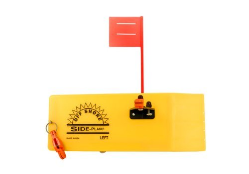 Off Shore OR12L Left Side Planer with Flag, Yellow