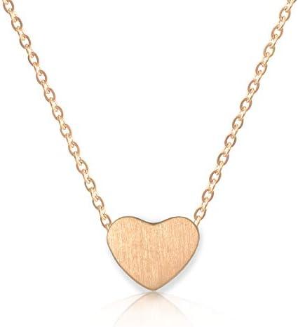 d16ac700a0e42 Buy Altitude Boutique Simple Heart Necklace for Her, Pendant Love ...