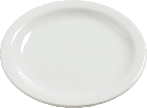 Carlisle 4385637 Dayton Melamine Bread & Butter Plates, 5.5'', Bavarian Cream (Set of 48) by Carlisle