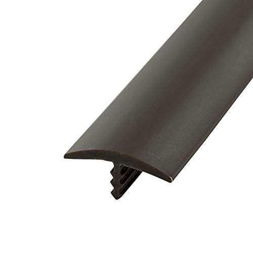 - Outwater Industries 100 Foot Brown 3/4 Inch Center Barb Tee Moulding T Molding Pro Pack