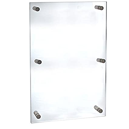 Amazon.com: New Clear Frame 30-inch W By 40-inch H Acrylic Sign ...