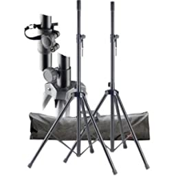 Stagg Set of Two Metal Speaker Stands