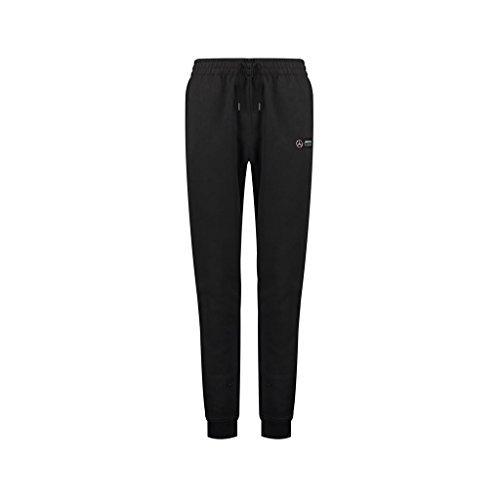 Mercedes Benz AMG Petronas Formula 1 Men's Black 2018 Sweatpants (Large) ()