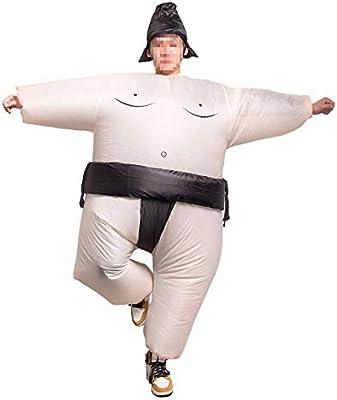 THEE Disfraces Inflable Luchador de Sumo Traje Hinchable para ...