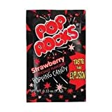 Pop Rocks Strawberry 0.33 oz Each (Pack of 24)
