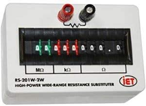 IET Labs RS-201W-2W High-Power Wide-Range Resistance Substituter
