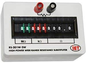 (IET Labs RS-201W-2W High-Power Wide-Range Resistance Substituter)
