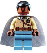 Lego Star Wars General Lando Calrissian Minifig 7754 From Mon Calamari - Lego 7754