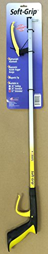 RMS RE-88004 Soft-Grip Reacher Grabber with Orthopedic Handle, 32""