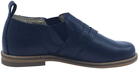 Luccini Boys and Girls Slip-On Loafer