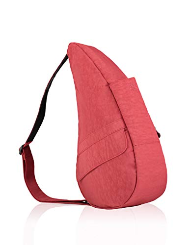 AmeriBag Classic Healthy Back Bag tote Distressed Nylon Small (Tuscan Red)