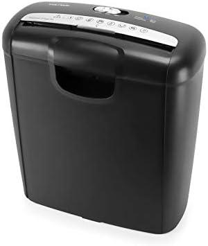 7/Blatt Vultech dd-03cr Gekreuztes mit Aktenvernichter Papierkorb 13/Liter Schwarz
