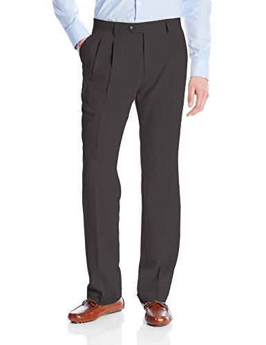 Cutter & Buck Men's Twill Microfiber Pleated Pant 34 Inch...