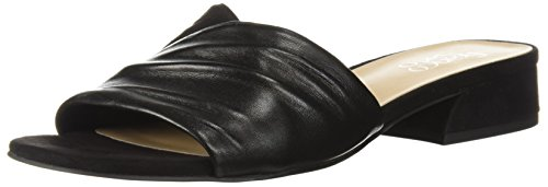 Franco Sarto Women's Frisco Slide Sandal Black 6ktWkHgssP